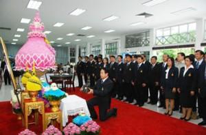 RMUTT blesses to His Majesty King Bhumibol Adulyadej