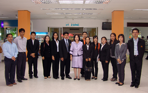 The visit from Nakorn Si Thammarat Rajabhat University
