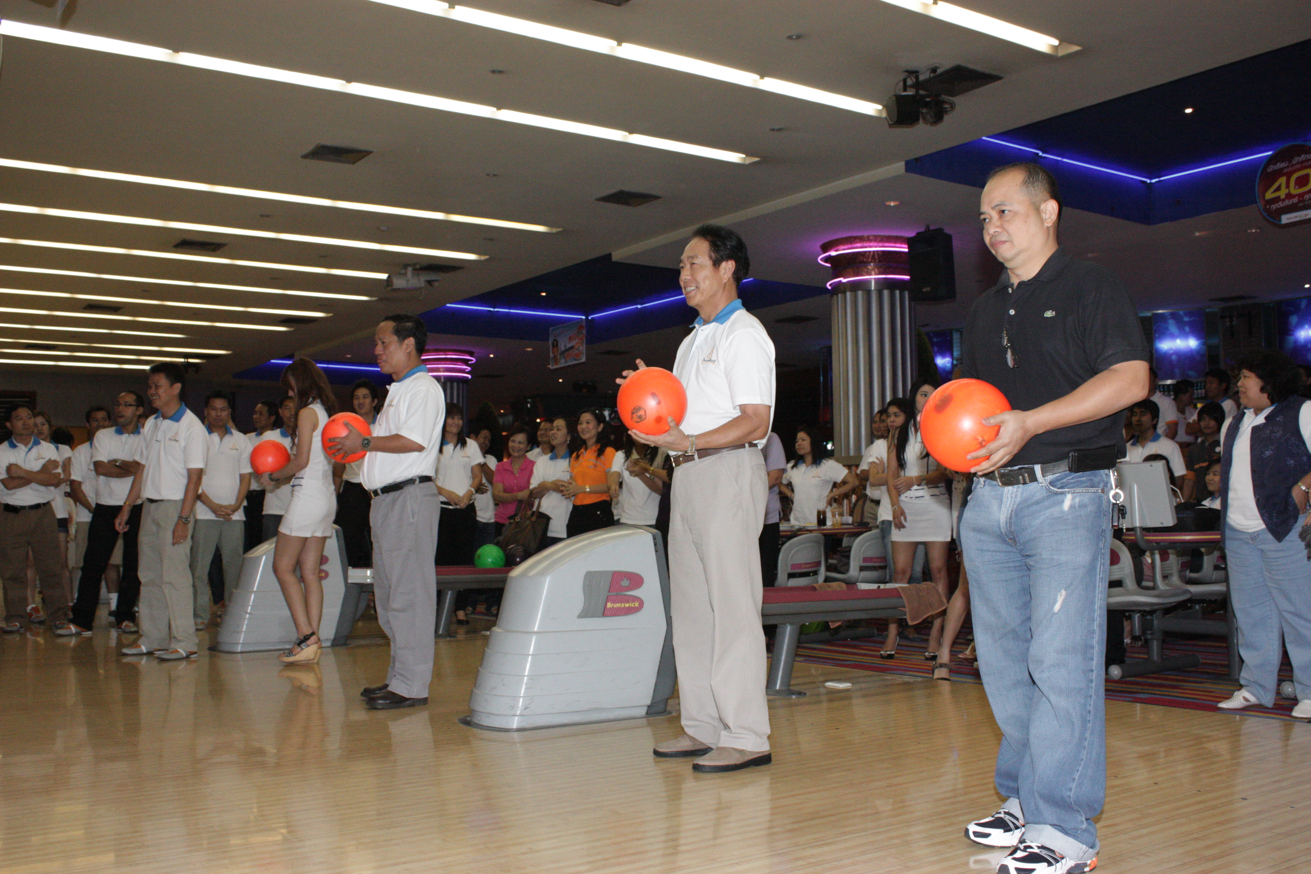 RMUTT hosts Bowling Competition